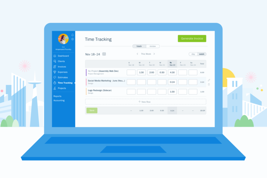 FreshBooks Online Bookkeeping
