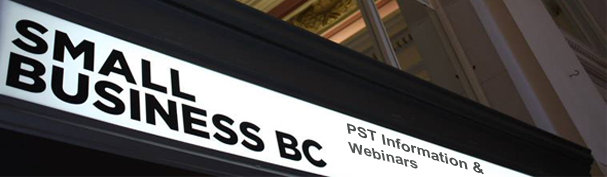pst information webinars for bc small businesses