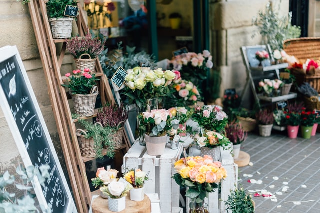 floral shop with flowers -Ledgersonline